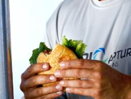 Eat Top Maui Hawaii Hamburger