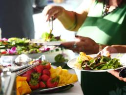 Maui Hawaii Best Sunset Dinner Salad Bar