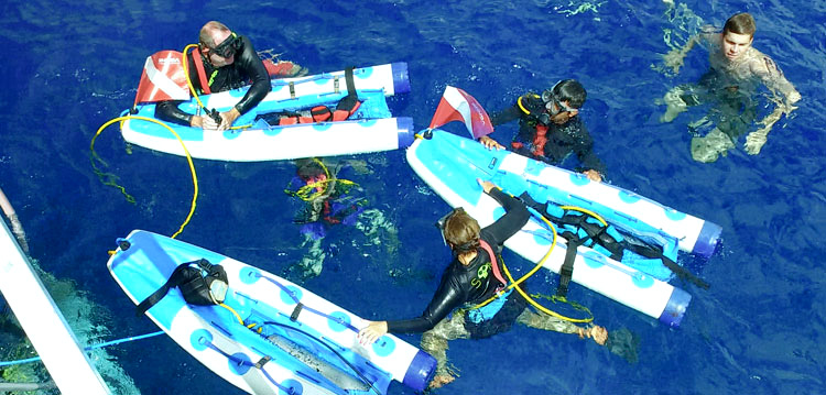 Only the best equipment for ocean fun SNUBA and Snorkeling
