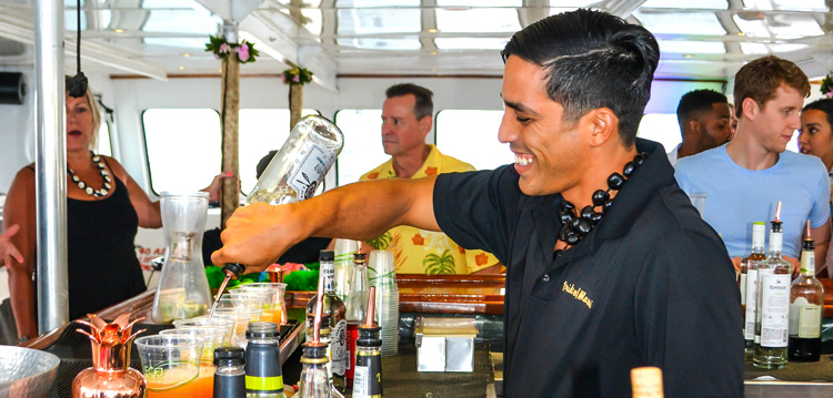 Best Bar and Drinks on Maui Private Charter