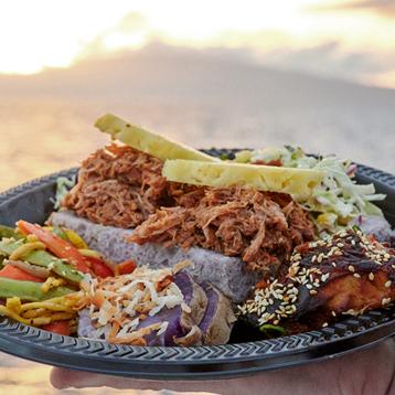 Food Dish Sunset Cruise Luau